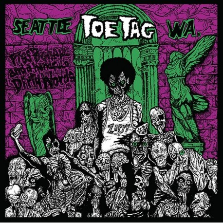 Toe Tag ‎– Toe Tag - LP S/sided