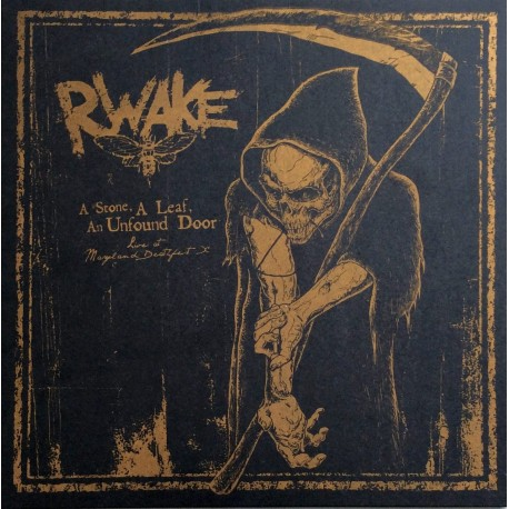 Rwake - A Stone, A Leaf, An Unfound Door - LP+ DVD