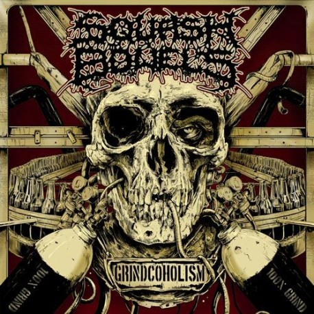 Squash Bowels – Grindcoholism - CD