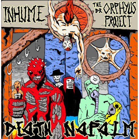 Inhume / The Dr. Orphyus Project – Death Napalm - CD
