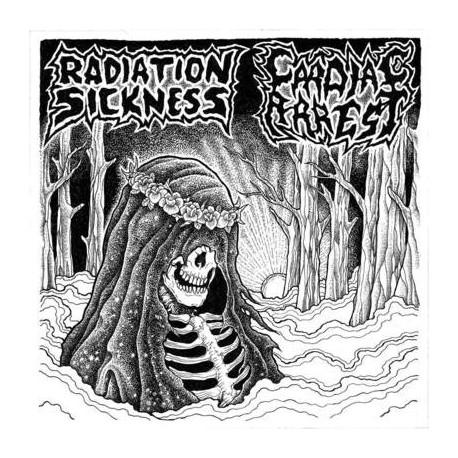 """Radiation Sickness / Cardiac Arrest – Split 7"""""""