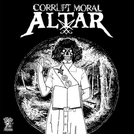 "Hicks Kinison / Corrupt Moral Altar - Split 7"""