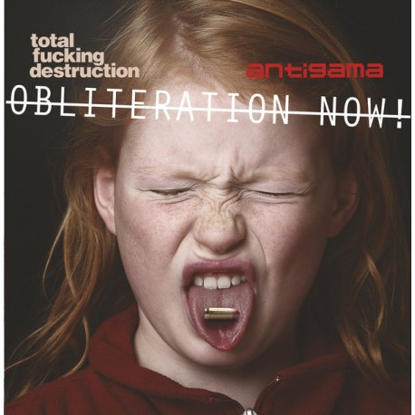 "Total Fucking Destruction / Antigama ‎– Obliteration Now! - 7"" (White)"