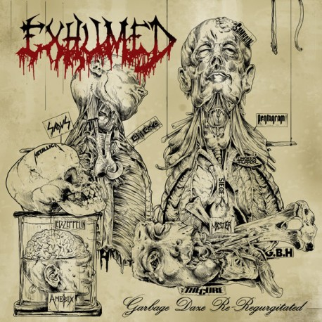 Exhumed – Garbage Daze Re-Reurgitated - LP