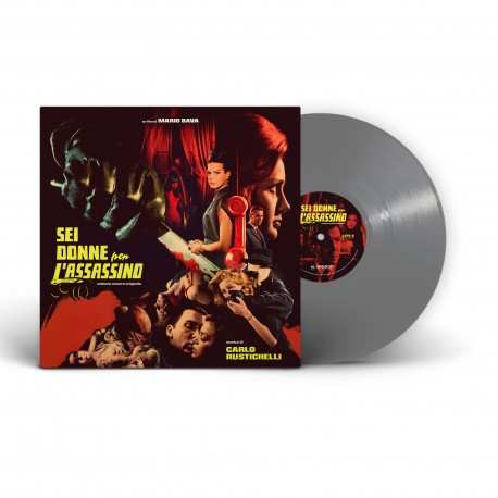 "Mario Bava's ""Sei Donne Per L'Assassino"" / ""Blood And Black Lace"" Original Soundtrack - LP"
