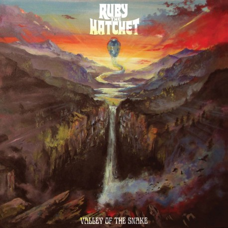 Ruby The Hatchet ‎– Valley Of The Snake - Red LP