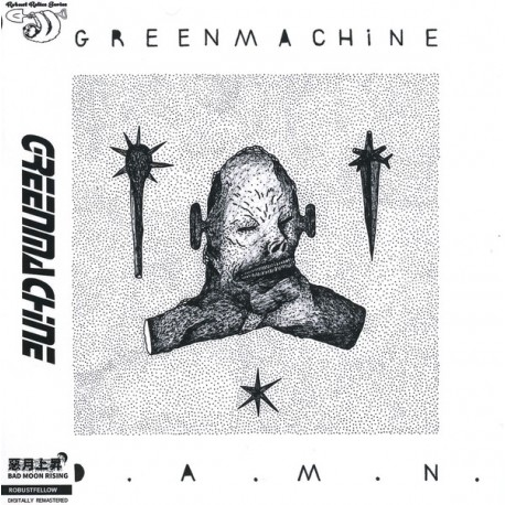 Greenmachine ‎– D.A.M.N. - CD