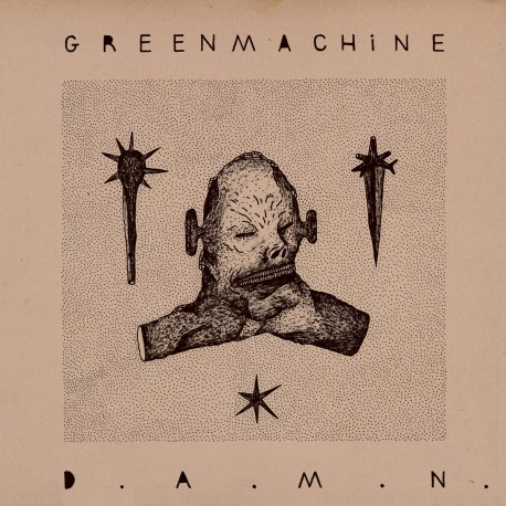 Greenmachine – D.A.M.N. - LP