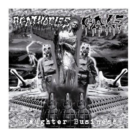 Agathocles / Gale - Slaughter Business Split CD