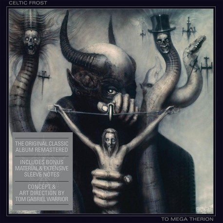 Celtic Frost ‎– To Mega Therion - CD-Digi