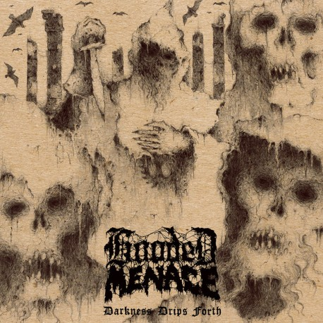 Hooded Menace ‎– Darkness Drips Forth - CD