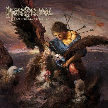 Hate Eternal – Upon Desolate Sands - LP Clear