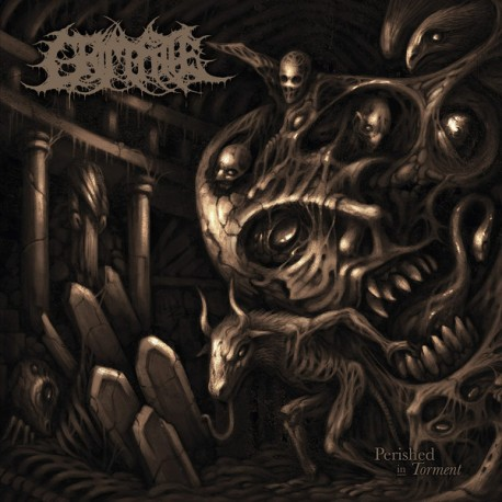Grim Fate – Perished In Torment - LP
