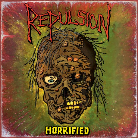 Repulsion ‎– Horrified - LP Colored