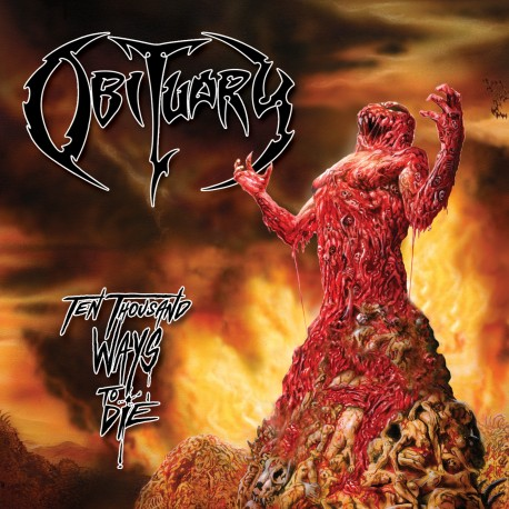 Obituary ‎– Ten Thousand Ways To Die - LP