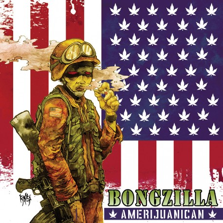 Bongzilla ‎– Amerijuanican - LP Colored