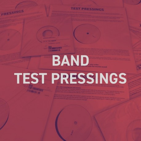 Band Test Pressings