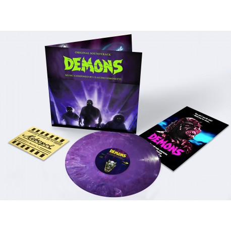Claudio Simonetti ‎– Demons - Original Soundtrack - LP Deluxe Edition