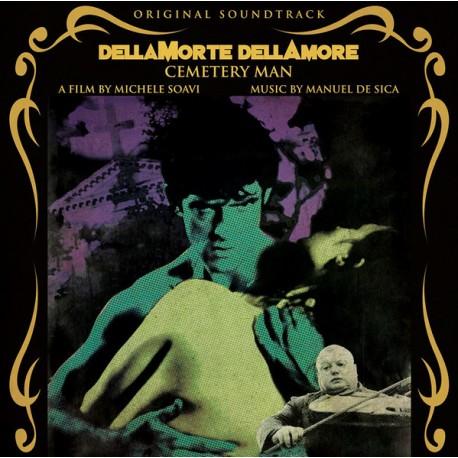 Manuel De Sica – Dellamorte Dellamore - Cemetery Man (Original Soundtrack) - LP