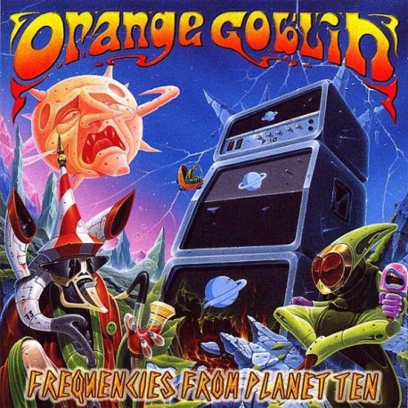 Orange Goblin - Frequencies From Planet Ten CD