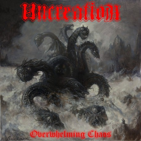 Uncreation - Overwhelming Chaos CD