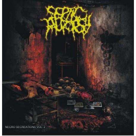Septic Autopsy – Necro Secreations Vol. 2 - CD