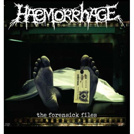Haemorrhage ‎– The Forensick Files - LP