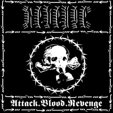 Revenge – Attack. Blood. Revenge - LP Colored