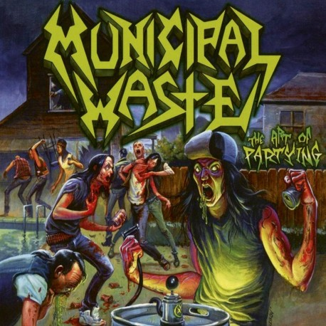 Municipal Waste – The Art Of Partying - LP
