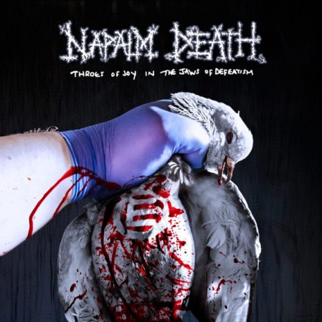 Napalm Death ‎– Throes Of Joy In The Jaws Of Defeatism - LP 180g