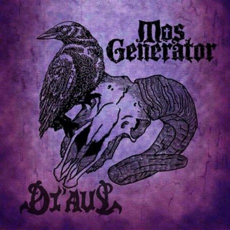 Mos Generator / Di'Aul - Split - LP Colored