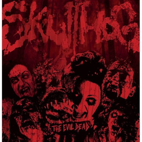 Skullhog - The Evil Dead LP Purple Marbled