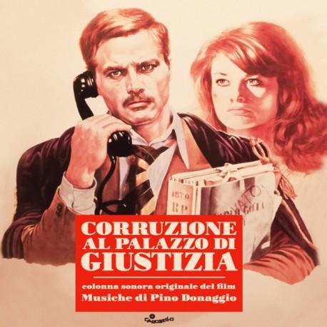 Pino Donaggio – Corruzione Al Palazzo Di Giustizia (Original Soundtrack) - LP Red (RSD 2019)