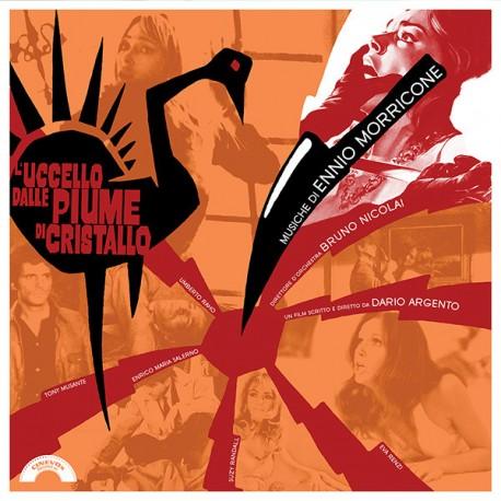 Ennio Morricone – L'Uccello Dalle Piume Di Cristallo (Original Soundtrack) - LP Clear Orange