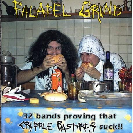 Vv.aa - Falafel Grind (32 bands provings that Cripple Bastards suck!!) - CD
