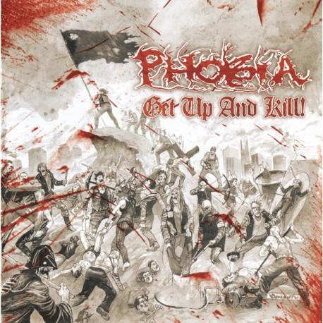 Phobia – Get Up And Kill! - CD