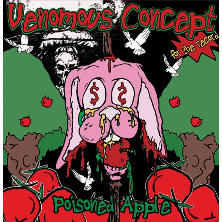 Venomous Concept – Poisoned Apple - LP Green