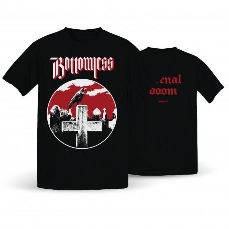 Bottomless – 'Eternal Doom' T-Shirt/Girlie - Spikerot Exclusive