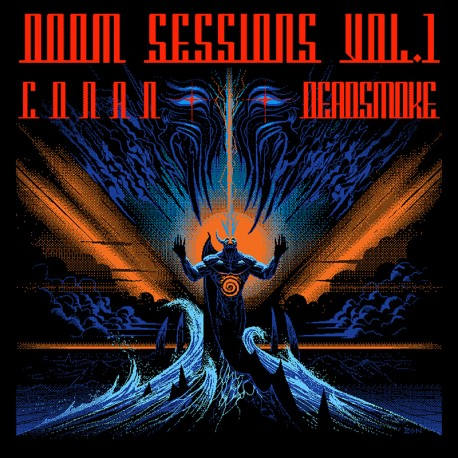Conan / Deadsmoke – Doom Sessions Vol. 1 - CD Digi