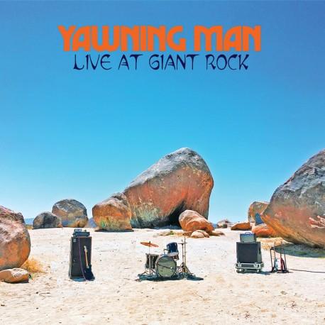 Yawning Man – Live At Giant Rock - CD-Digi