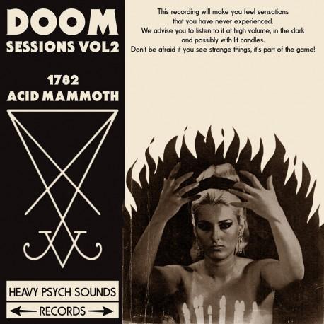 1782 / Acid Mammoth – Doom Sessions Vol. 2 - CD Digi
