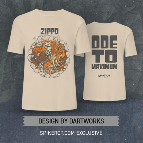 "Zippo - ""Ode To Maximum"" T-Shirt - Spikerot.com Exclusive"