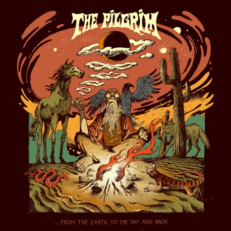 The Pilgrim – ...From The Earth To The Sky And Back - CD Digi