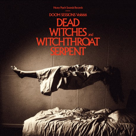 Dead Witches / Witchthroat Serpent – Doom Sessions Vol. 666 - CD Digi