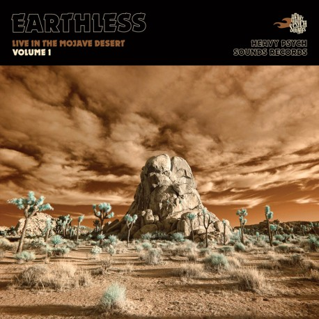 Earthless – Live In The Mojave Desert (Volume 1) - CD-Digi