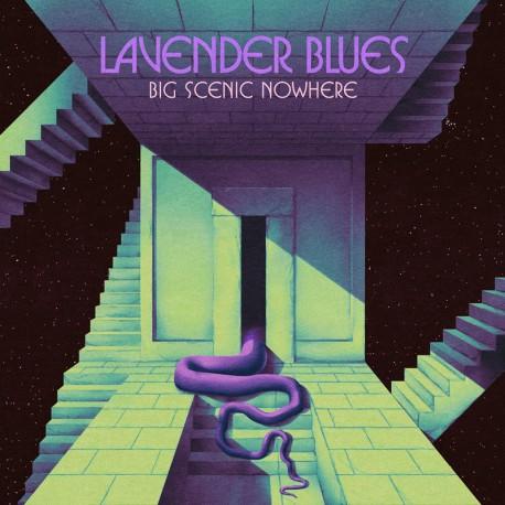 Big Scenic Nowhere – Lavender Blues - LP