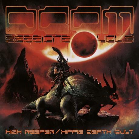 High Reeper / Hippie Death Cult – Doom Sessions Vol.5 - LP