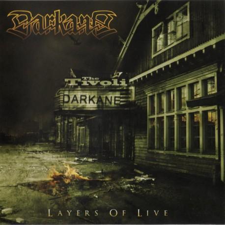 Darkane – Layers Of Live - CD/DVD