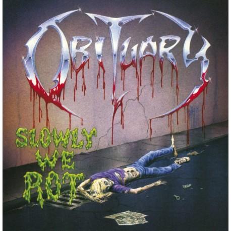 Obituary – Slowly We Rot - LP Gold