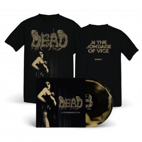 Dead - In The Bondage Of Vice - LP+T-Shirt Bundle